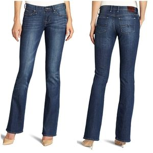 LUCKY BRAND | Sweet N Low Boot Ankle Crop Jeans 28